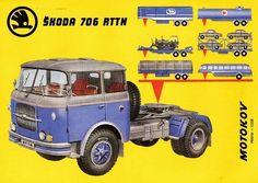 Skoda 706 RTTN Vintage Advertisements, Vintage Ads, Old Lorries, Truck Art, Car Advertising, Old Trucks, Cars And Motorcycles, Cool Cars, Tractors
