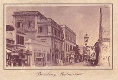 What a difference: Broadway in 1900 in Chennai