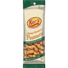 Liberty Distribution 2.5Oz Hny Rst Peanuts 120828 Unit: Each Contains 12 per case, Honey