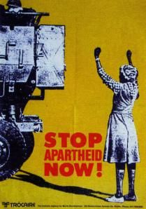 Africans form of racism is called Apartheid. This was the unfair treatment of blacks that lived in Africa. Nelson Mandela helped to stop the apartheid. African History, Women In History, World History, Black History, Protest Kunst, Protest Art, Famous Day, South African Art, Dancehall Reggae