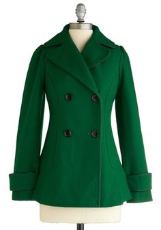 Very cute jacket! Definitely adds some color to the winter wardrobe.