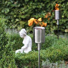 FInk Fackestecker NEVIS - Hübsche Outdoor-Accessoires sorgen selbst bei trübem Himmel für ein Stimmungshoch.