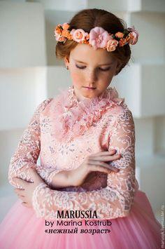 Одежда для девочек, ручной работы. Заказать Платье НВ-11. Marussia / Маруся. Ярмарка Мастеров. Платье на выход