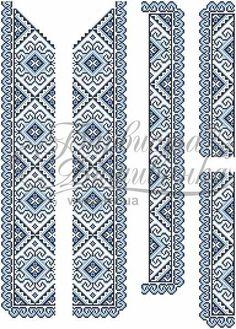 Домотканая белая мужская вышиванка СЧд-002Б