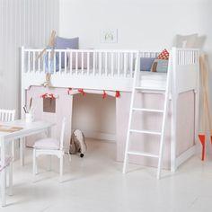 Oliver Furniture Hochbett für Kinder m Matratze - Aktion