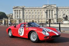 1964 Ferrari 250 Le Mans Berlinetta Pininfarina at St. James's Concours of Elegance 2013