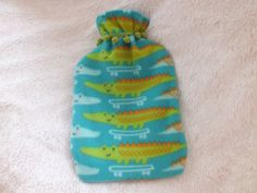 Soft & cuddly boys crocodile hot water bottle by MaterialHugs, plus postage (doesn't include bottle! Bottle Shop, Hugs, Crocodile, Water Bottle, Christmas Ornaments, Holiday Decor, Unique Jewelry, Handmade Gifts, Crafts