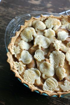Spicy Rum N' Pear Pie. A little rum for me... and little rum for the pie...