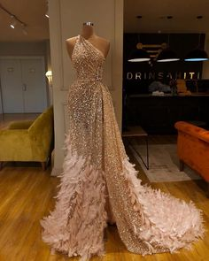 EsB Weedings 2020 Wedding recption dress for stylish and stuning look Dresses - Designer Dresses Couture Gala Dresses, Event Dresses, Formal Dresses, Evening Gowns Dresses, Couture Dresses Gowns, Sexy Dresses, Gold Formal Dress, Casual Dresses, Long Sequin Dress