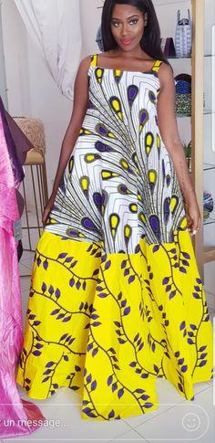Latest Aso Ebi And Ankara Styles 2018 For Ghanaian African Maxi Dresses, Ankara Dress, African Attire, African Wear, African Women, African Outfits, African Print Fashion, Africa Fashion, African Prints