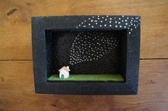 little ceramic house frame