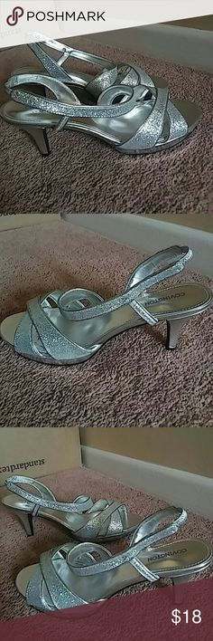 Covington Ladies Sandals Worn only 3 times and in excellent shape..in mint shape and rated 9/10. This is 200% Covington product. Covington Shoes Sandals