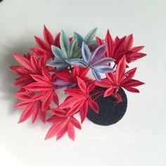 紅葉|東京広尾 つまみ細工教室「花びら」