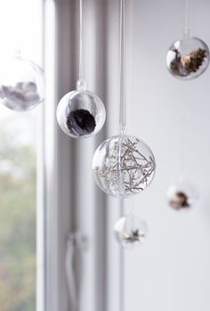 Christmas ornaments by Søstrene Grene // DIY with video totorial // Winter decoration