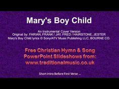 Christmas Carol Song lyrics with Chords - Marys Boy Child