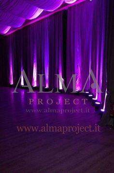 140822 - ALMA PROJECT @ Borro Anfiteatro - Amphiteathre - led pars - purple