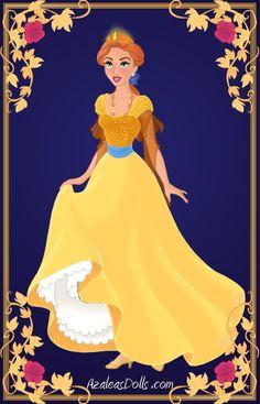 Anastasia { Yellow Dress } by kawaiibrit.deviantart.com on @deviantART