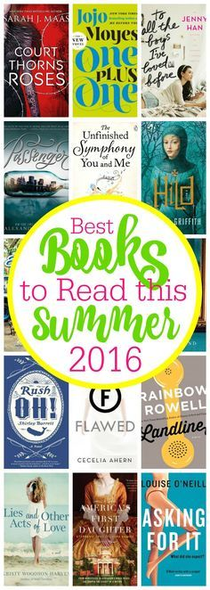 CC Looking for some good books to read this summer? Check out this reading list with 16 great suggestions. With a mix of fantasy, YA, and historical fiction, there's sure to be at least one you'll want to add to your own to your own Goodreads shelves!