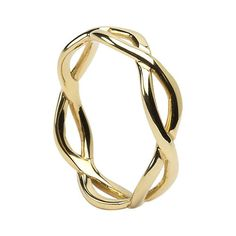 Celtic Infinity Knot Wedding Ring