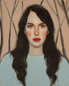 ♀ Painted Art Portraits ♀  Kris Knight | Lost Dauphine