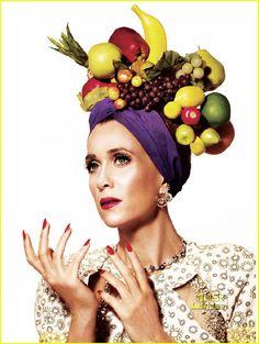 Kristen Wiig channels Carmen Miranda for V Magazine. Love it!