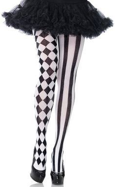 Flaunt your legs with our funky fashion tights. Glam up your leg wear with patterned tights or glitter tights from Joy of Socks. Our eye catching striped tights and fishnet tights will make your everyday look extra exciting. Black And White Tights, Striped Tights, Patterned Tights, Black White, Black And White Costume, Funky Tights, Striped Stockings, Sheer Tights, Sexy Stockings