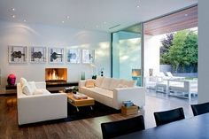 30 Open Floor Plan Living Rooms Inspiring a Sophisticated Lifestyle - http://freshome.com/2011/03/02/30-thrilling-open-plan-living-rooms-with-a-view/
