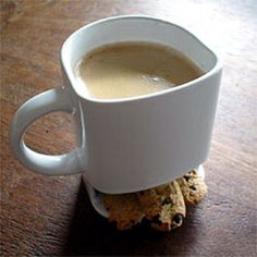 Coffee mug with cookie holder OMG LOVE IT!