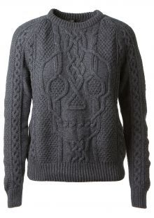 Alexander McQueen Grey wool and cashmere pullover