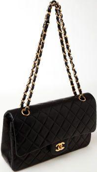 19153e35b883 Heritage Vintage: Chanel Black Double Flap Bag. A splurge, but worth it as