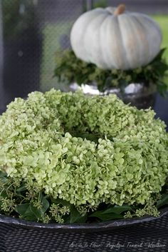 Once you've reached your dream garden and your regular green space, you'll need to … Wreaths And Garlands, Fall Wreaths, Door Wreaths, Christmas Wreaths, Hortensia Hydrangea, Hydrangea Garden, Hydrangea Wreath, Hydrangeas, Garden Care