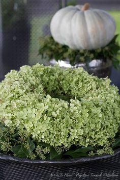 Herfst voorbeelden - www.artdelafleur7.nl Herfst krans wreath autumn fall Hop…
