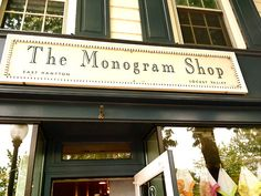 sperrysandsailboats: The Monogram Shop, East Hampton Monogram Shop, Monogram Fonts, Monograms, Locust Valley, College Necessities, Preppy Handbook, South Hampton, Prep Life, Long Island Ny