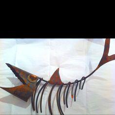 Cool metal fish!