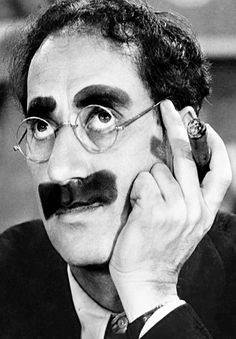 """Groucho Marx  """"This is no way to live!"""" This was Groucho Marx's final statement before dying in Los Angeles.  His brother, Leonard, who often stared with him in comedy films also had some memorable last words. Leonard said to his wife, """"Remember, Honey, don't forget what I told you. Put in my coffin a deck of cards, a mashie niblick, and a pretty blonde."""""""