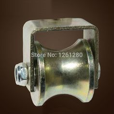 ==> [Free Shipping] Buy Best free shipping lifting tool wheel 40mm U-shaped steel tube rail track bearing fixed pulley load sheave repari hardware Online with LOWEST Price | 32639046808