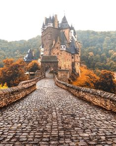 Eltz Castle, Weirschem Germany - Adventure is Out There - Camping Nature Places Around The World, Oh The Places You'll Go, Places To Travel, Places To Visit, Beautiful Castles, Beautiful Places, Romantic Places, Magic Places, Palaces