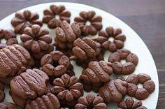 Chocolate #spritz #cookies