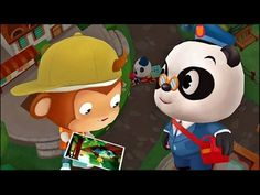 Dr. Pandas Postbote - Kinder Postspiel für Android, iPad, iPhone, Kindle Fire