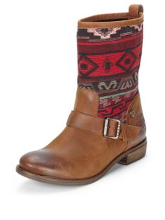 Tommy Hilfiger Eline Leather Calf Boots | very.co.uk