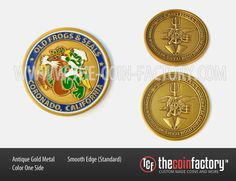 OLD FROGS AND SEALS #challenge_coins