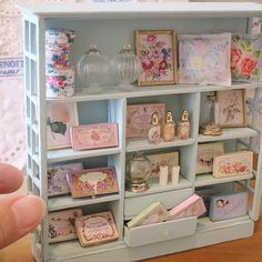 2017, French Cabinet Miniature ♡ ♡ By Pansbear