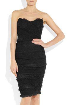 Dolce & Gabbana Textured stretch-lace dress - $2495