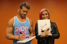 25 Thoughts WWE's Dolph Ziggler And Natalya Have On Totally Random Things <<OMG. I think I love Ziggler even more since his favorite ice cream flavor is cookies and cream!