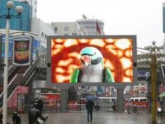 P16mm Energy Saving Outdoor Advertising LED Screen Billboards (P16 outdoor led display screen) - China outdoor advertising led screen;led...