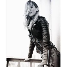 Ribbed for extra pleasure. Leather Jackets / Biker Jackets for Women