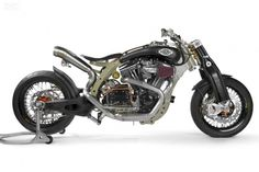 "SBay ""Jerry"" - RevTec motor, carbon fibre girder forks"