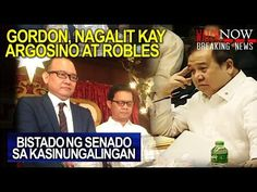 SENATE HEARING: Sen. GORDON NAGALIT sa PAGSISINUNGALING ni ARGOSINO at ROBLES! - WATCH VIDEO HERE -> http://dutertenewstoday.com/senate-hearing-sen-gordon-nagalit-sa-pagsisinungaling-ni-argosino-at-robles/   NEWS TV is a place where you can find news updates and latest trends in the Philippines. We grab the best stuffs and reupload here.  What's new in politics, entertainment, culture, lifestyle, and Duterte – ENJOY in hd/good quality!  Please Subscribe. Maraming salamat