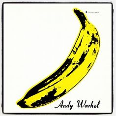Iconic Andy Warhol Art #inspiration #design #yellow