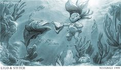 how to draw underwater lighting - Google Search